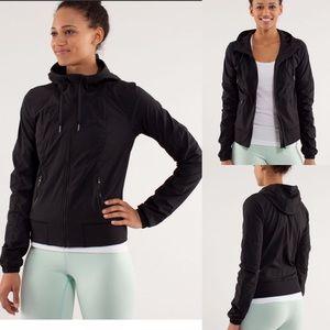 Lululemon street to studio jacket size 12